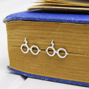 Wizard Glasses Earrings - Magic Collection - Literary Emporium