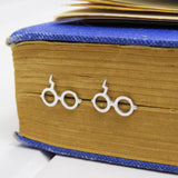 Wizard Glasses Earrings - Literary Emporium