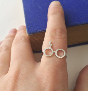Wizard Glasses Ring - Magic Collection - Literary Emporium