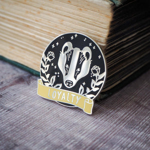 Loyal Badger - Magical House Enamel Pin Collection