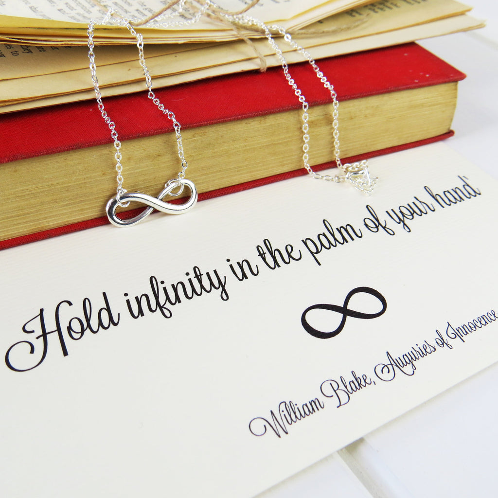 William Blake Infinity Necklace - Literary Emporium