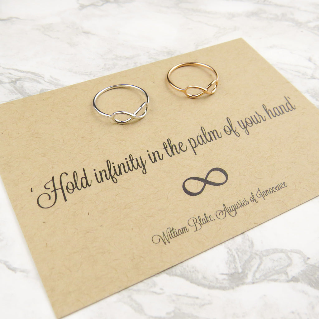 William Blake Infinity Ring - Literary Emporium