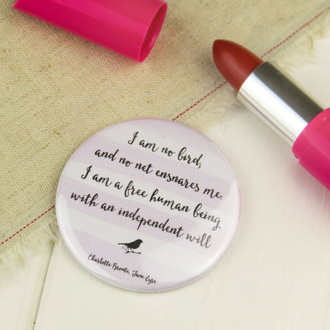 Jane Eyre Pocket Mirror - Literary Emporium
