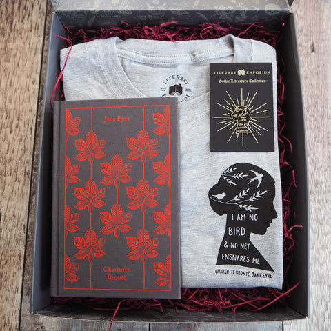 Jane Eyre Gift Set for Book Lover