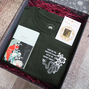 Lady Macbeth Gift Set - Shakespeare's Heroines Collection - Literary Emporium