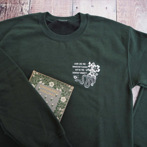 Lady Macbeth Green Sweatshirt - Shakespeare's Heroines Collection