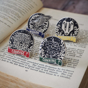 Magical House Enamel Pin Collection - Literary Emporium