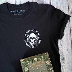 Ophelia T-Shirt- Shakespeare's Heroines Collection - Literary Emporium