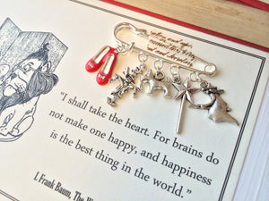 The Wonderful Wizard Of Oz Brooch - Literary Emporium