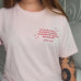 Pink Virginia Woolf 'Sparkle' T-Shirt - Literary Emporium