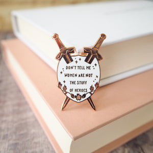 Qiu Jin Enamel Pin - Women Poets Collection