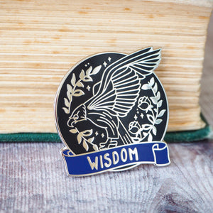 Wise Eagle - Magical House Enamel Pin Collection - Literary Emporium