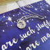 Shakespeare Moon And Stars Necklace - Literary Emporium