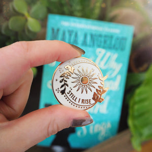 Dr Maya Angelou™ Enamel Pin- Women Poets Collection - Literary Emporium