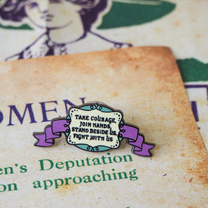 Votes for Women Enamel Pin Set - Literary Emporium