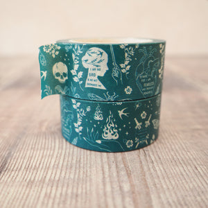 Teal Washi Tape