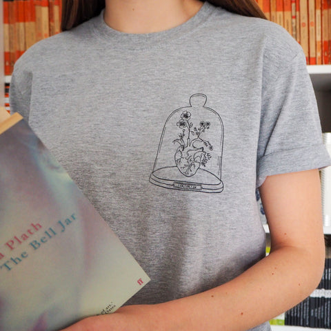 Sylvia Plath Charity T Shirt