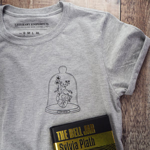 Sylvia Plath Charity T-Shirt - Literary Emporium