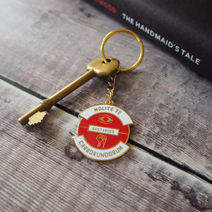 Nolite Te Bastardes Carborundorum Keyring - Dystopian Collection - Literary Emporium