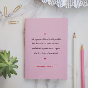 Virginia Woolf - Women Writers Pocket Notebook - Literary Emporium