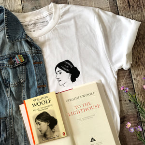 Virginia Woolf T-Shirt - Literary Emporium