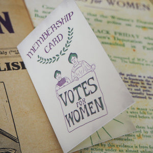 Take Courage Enamel Pin - Votes for Women Collection - Literary Emporium