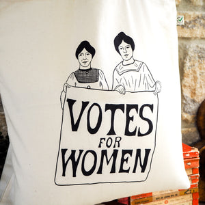 Votes for Women Tote Bag - Literary Emporium