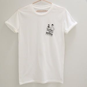 Votes for Women Charity T-Shirt - Literary Emporium