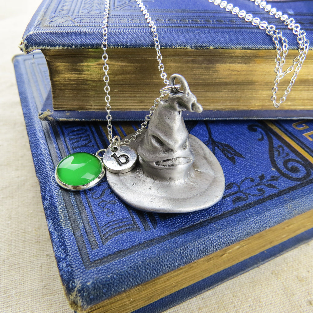 Wizard Hat Personalised Necklace - Literary Emporium