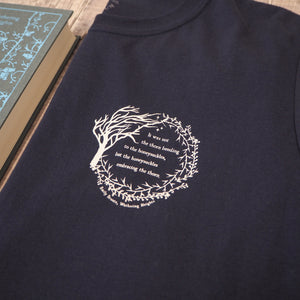 Wuthering Heights T-Shirt - NAVY