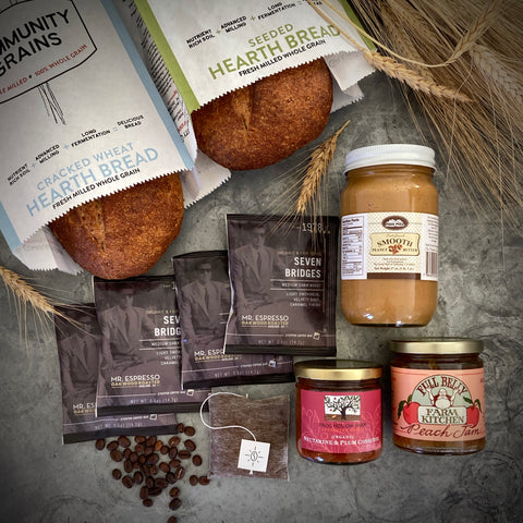 The Hearth Bread Gift Box – Price Includes $18.00 Expedited Shipping