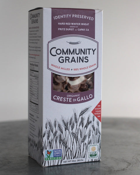 Organic Whole Grain Creste di Gallo (Identity Preserved)