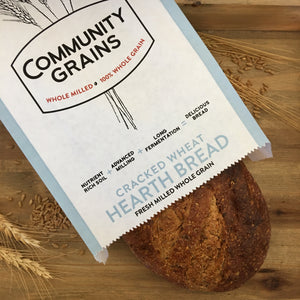 Hearth Bread – Cracked Wheat