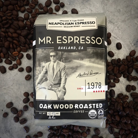 Neapolitan Espresso Blend by Mr. Espresso: Whole Bean, Organic, Fair Trade