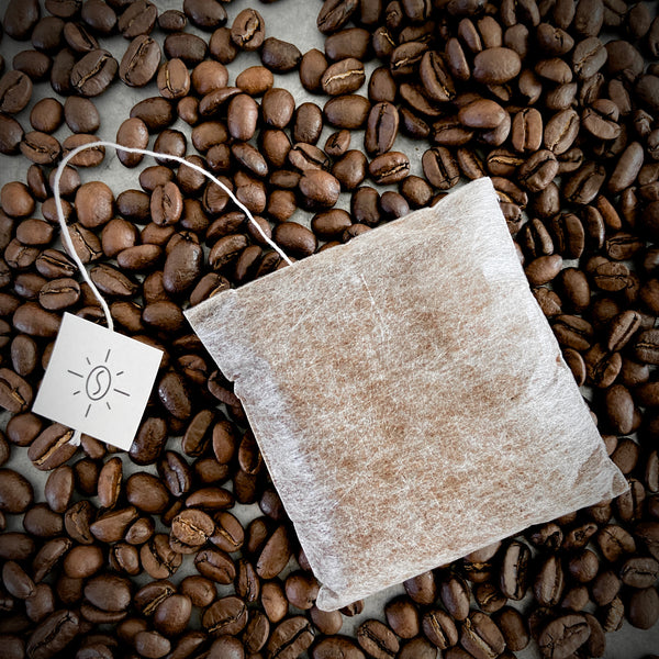 "Single Serve ""Seven Bridges Blend"" Coffee Bags  by Mr. Espresso: Organic, Fair Trade"