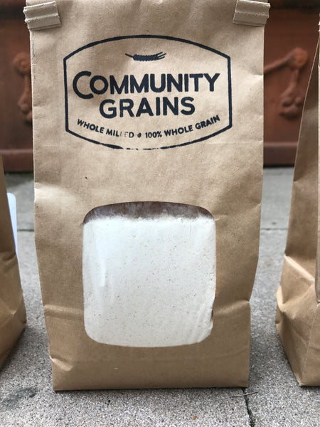 Identity Preserved Hi-Pro Patwin Flour - Organic Whole Milled Hard White Spring Wheat - 25 lb bag