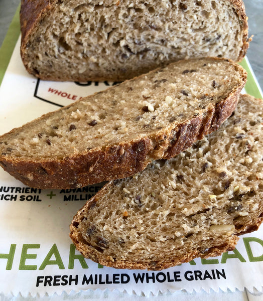 NEW - Identity Preserved Seeded Hearth Bread (finish baking at home)