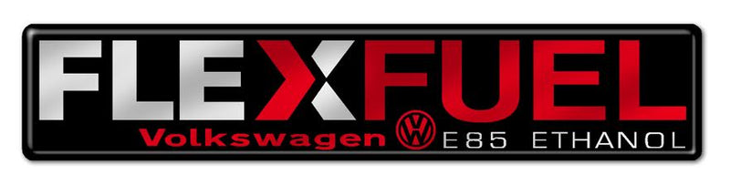 Flex Fuel Volkswagen Red