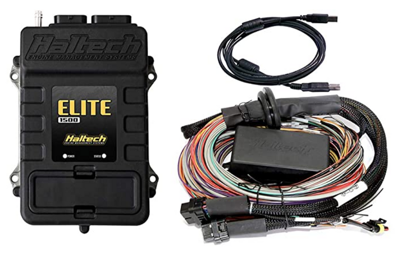 Haltech Elite 1500 w/ 8ft universal harness HT150904