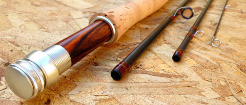 Best Trout Rod: Drifter Covert Custom with Cocobolo reel seat