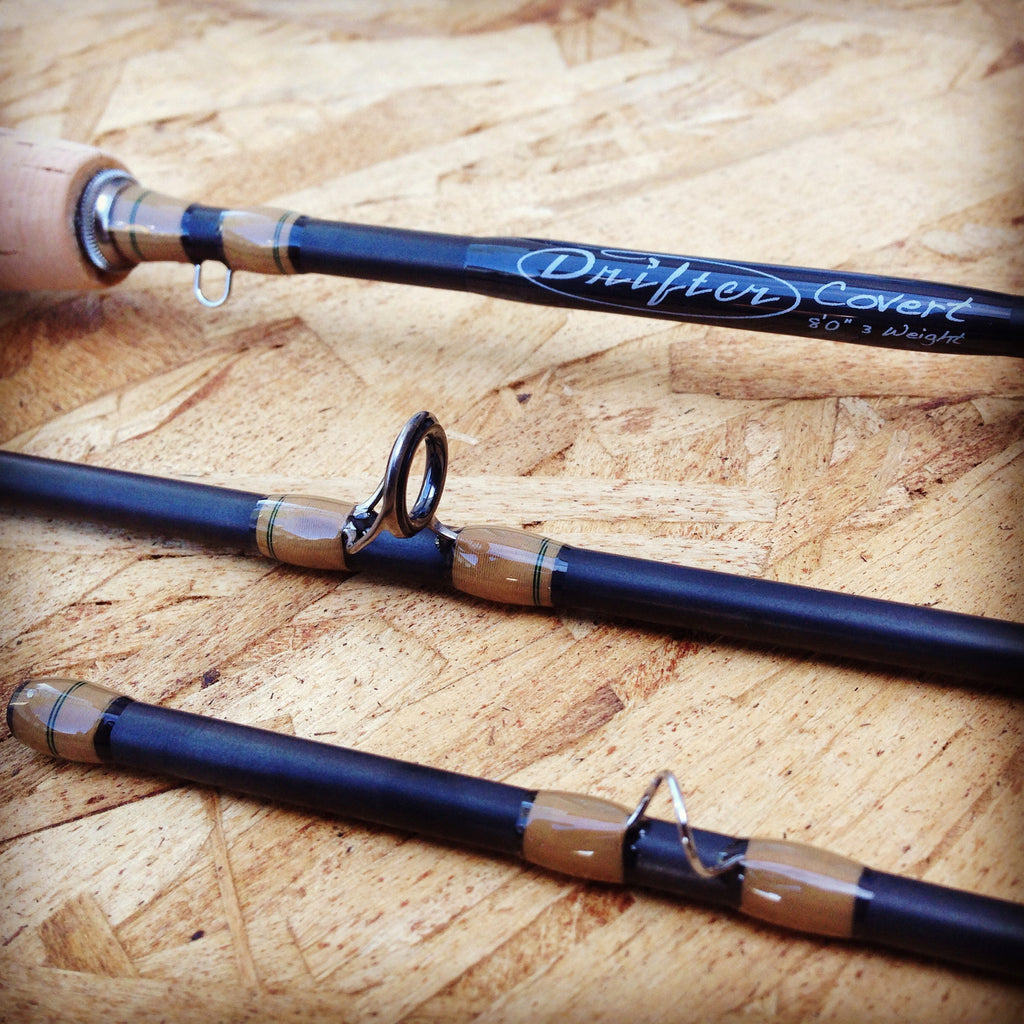 3 Weight Fly Rod: Drifter Covert Fly Rod