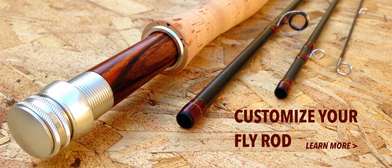 Medium Action Fly Rod: Drifter Covert Fly Rod