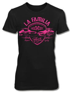 LA FAMILIA - Women's Short Sleeve Tee