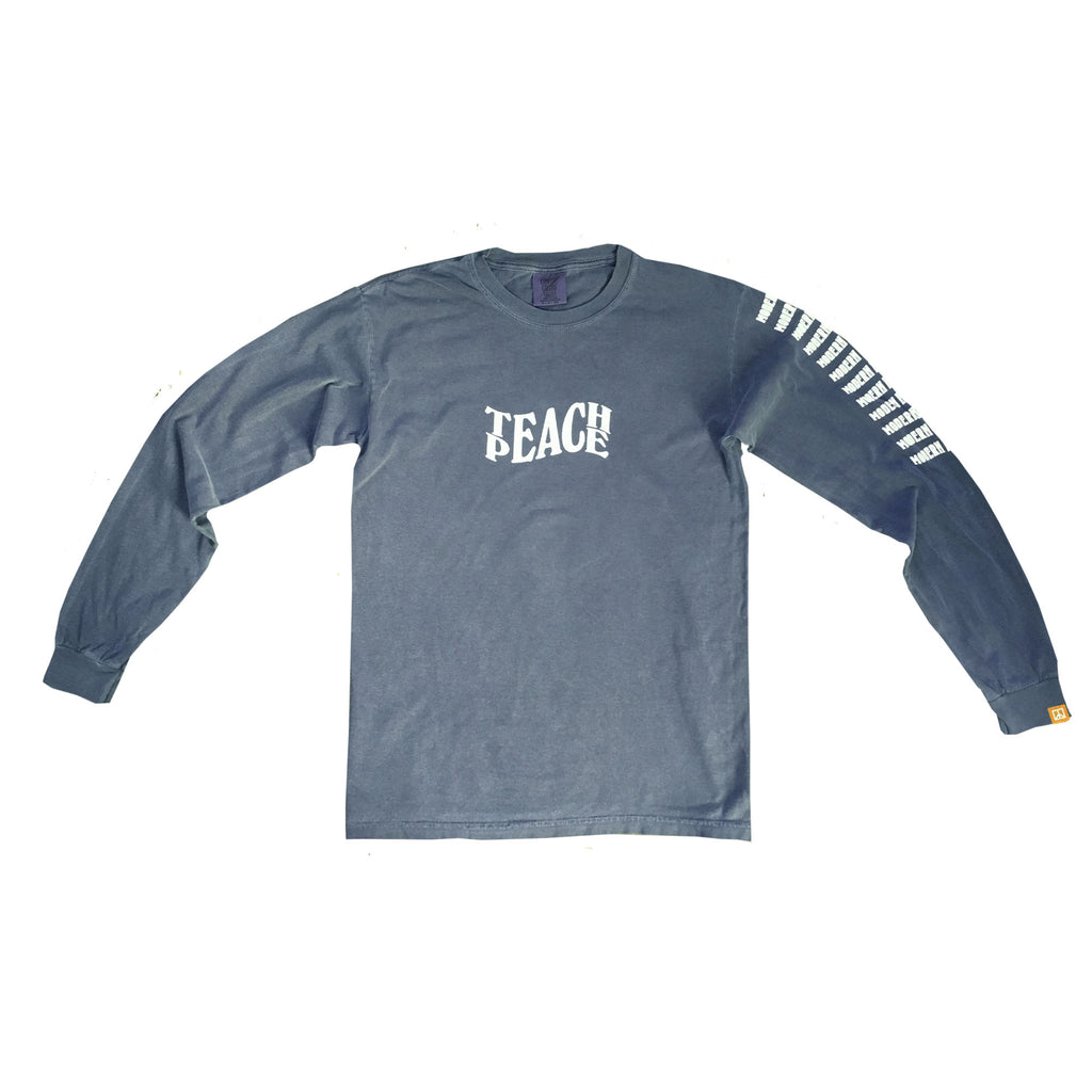 Teach Peace - Chambray