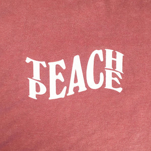 Teach Peace - Heather Crimson