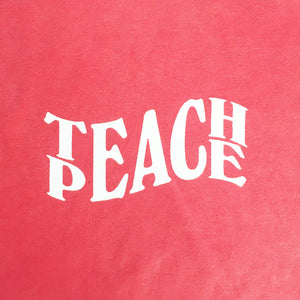 Teach Peace - Hyper Cherry