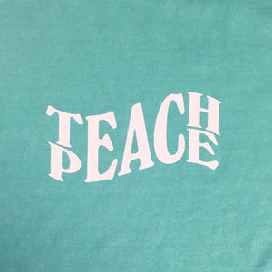 TEACH PEACE - TIFFANY