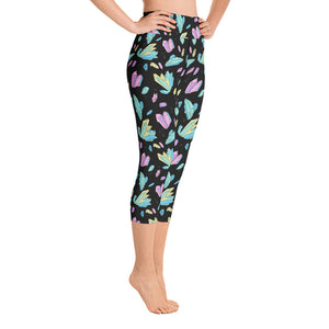 Crystal Persuasion High-Waist Capri Leggings