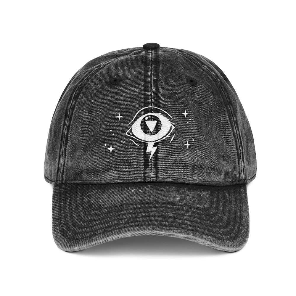 3rd Eye Vintage Cotton Twill Cap