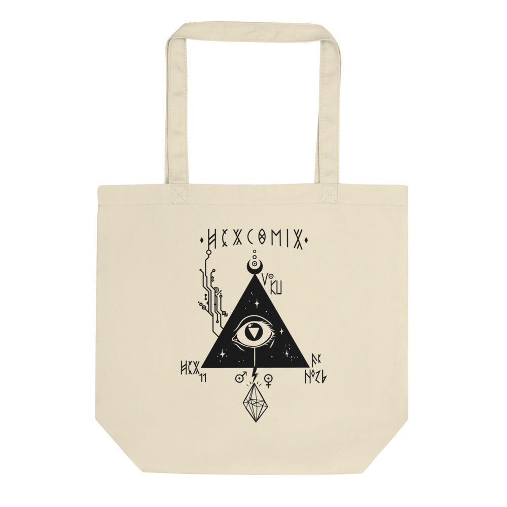 HexComix ECO Tote in Natural Magick